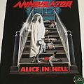 "Annihilator ""Alice in Hell"" Backpatch"