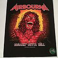 "Airbourne ""Breakin' outta Hell"" Backpatch"