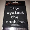 "Rage Against The Machine "" Logo 2016 "" Patch"