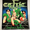 "Celtic Frost ""Emperor's Return"" Backpatch, Mex. Boot"