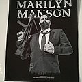"Marilyn Manson ""Machine Gun"" Backpatch"
