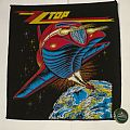 "ZZ Top ""Afterburner"" Backpatch"
