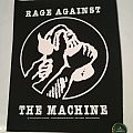 "Rage Against The Machine ""Molotow"" Backpatch"