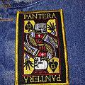 """Pantera """"Skull King Playing Card"""" Patch"""