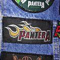 """Pantera """"Flamming Logo"""" Patch"""