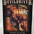 "DevilDriver ""Outlaws 'Til The End"" Backpatch"