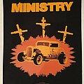 """Ministry - Patch - MINISTRY """"Jesus Built My Hotrod"""" Backpatch"""