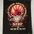"""Five Finger Death Punch - Patch - Five Finger Death Punch """"The Way of the Fist"""" Backpatch"""
