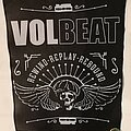 """Volbeat - Patch - Volbeat """"Rewind, Replay, Rebound"""" woven Backpatch"""