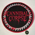 "Cannibal Corpse ""Red Before Black"" woven Backpatch"