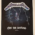 "Metallica - Patch - Metallica ""Ride The Lightning"" Backpatch"