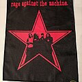 """Rage Against The Machine - Patch - Rage Against The Machine """"Red Star"""" Backpatch"""