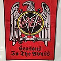 "Slayer ""Seasons in the Abyss"" woven Backpatch"
