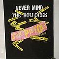 """Sex Pistols - Patch - Sex Pistols """"Never Mind The Bollocks"""" Backpatch"""