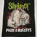 "Slipknot ""Pulse of the Maggots"" Backpatch"