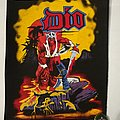 """Dio """"Warrior"""" Backpatch"""