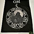 Om - Patch - Om Backpatch woven
