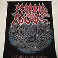 "Morbid Angel - Patch - Morbid Angel ""Altars of Madness"" DIY Backpatch"