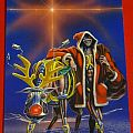 Iron Maiden 1986 christmas card Other Collectable