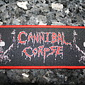 Cannibal Corpse strip Patch