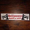 Hellhammer - Patch - Hellhammer strip patch