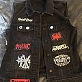 Horror/Doom/Death/Black metal vest in progress