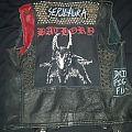 Leather Battle Vest!! FUCKIN SICK!!