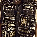 First Crust Punk Battle Jacket