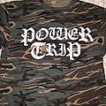 Power Trip: *rare* Camo 2nd Original Logo T-Shirt