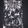 Morbid Angel: Decibel Magazine Tour 2019 T-Shirt w/members on the front