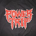 Power Trip: *rare* 2017 Crimson Red Logo T-Shirt