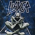 Slayer: *rare* tie-dye bleached Divine Intervention t-shirt