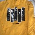 Korn: *rare* 2018 Pleasures yellow hoodie