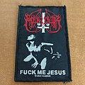 Marduk - Patch - Marduk - Fuck me jesus patch