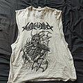 Toxix Hollocaust cut off shirt