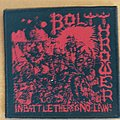 Bolt Thrower - In battle there is no law patch