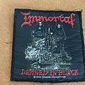 Immortal - Patch - Immortal - Damned in black patch