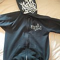 Mgla hoodie with Blut aus Nord big patch