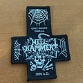 Hellhammer - Only Death is real cross patch