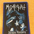 Midnight - Satanic Royalty patch
