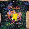 "Queen - ""a kind of magic"" all over print / Size: XL"