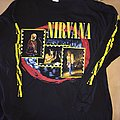 "Nirvana - ""From the muddy banks..."" LS / Size: XL TShirt or Longsleeve"