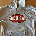 "Sick Of It All - Hooded Top - Sick of it all - ""Old school or the new..."" hoodie"