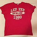 """Led Zeppelin - """"Berlin 1980"""" shirt / Size: XL"""