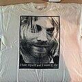 """Kurt Cobain - TShirt or Longsleeve - Kurt Cobain - """"I Hate Myself and I Want to Die"""" shirt ?"""