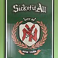 "Sick Of It All - Other Collectable - Sick of it all - ""NY"" emblem (framed)"