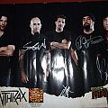 Other Collectable - Anthrax Signed Poster