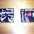 Church Of Misery - Other Collectable - Church Of Misery Japanese square buttons