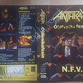 Anthrax signed VHS tape