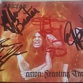 Amon/deicide signed cd